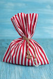 Fabric pouch Stock Images