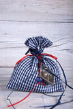 Fabric pouch Royalty Free Stock Images