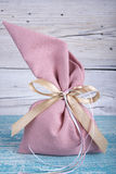 Fabric pouch Royalty Free Stock Photo
