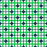 Fabric print. Geometric pattern in repeat. Seamless background. Mosaic ornament, ethnic style. Design for prints on fabrics, textile, surface Royalty Free Stock Photos