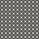 Fabric print. Geometric pattern in repeat. Seamless background, mosaic ornament, ethnic style. Two colors. Fabric print. Geometric pattern in repeat. Seamless Royalty Free Stock Image