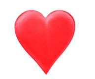 Fabric Red Heart Stock Photography