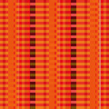 Fabric with red pinstripes Stock Photography