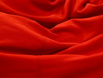 Fabric red Royalty Free Stock Photography