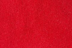 Fabric red synthetic texture. For background Stock Photo