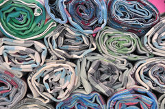Fabric roll Stock Images