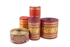 Fabric rolls Royalty Free Stock Image