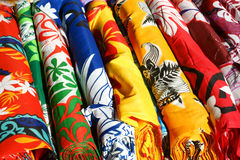 Fabric Rolls Royalty Free Stock Photography