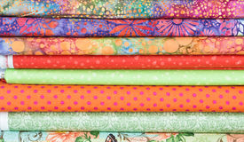 Fabric rolls. Rolls of colorful fabric as a background image stock photography