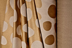 Fabric in rolls Royalty Free Stock Image