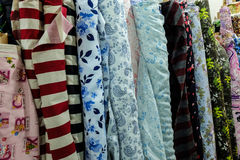 Fabric rolls Royalty Free Stock Photos