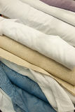 Fabric rolls texture Royalty Free Stock Image