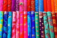 Fabric Rols Stock Photo