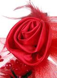 Fabric rose Royalty Free Stock Photo