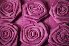 Fabric Roses Royalty Free Stock Photos