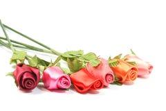Fabric Roses Stock Photos