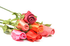 Fabric Roses Stock Images