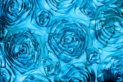 Fabric Roses Background Stock Image
