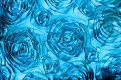 Fabric Roses Background Stock Image