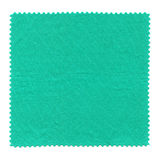 Fabric sample. A fabric sample isolated over white background stock image