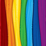 Fabric samples. Illustration of Colorful fabric background royalty free illustration