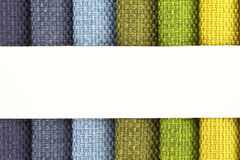 Fabric samples. Color background of fabric samples Royalty Free Stock Image