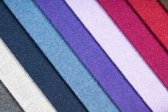 Fabric samples abstract background 2 Royalty Free Stock Image