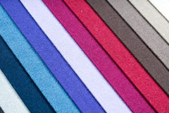 Fabric samples closeup abstract background 1 Royalty Free Stock Photo