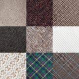 Fabric samples Stock Photos