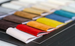 Fabric samples Royalty Free Stock Images