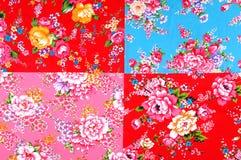 Fabric samples texture Stock Photography