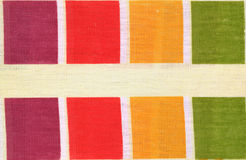 Fabric from the scraps background Royalty Free Stock Photo