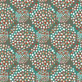 Fabric seamless pattern in green and red colors. Repeating background. Elegant template for fashion prints. Texture for. Wallpaper, textile design Stock Photos