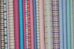 Fabric shop. Beautiful fabric shop in India Royalty Free Stock Photo