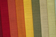 Fabric in shop Royalty Free Stock Photography