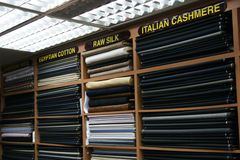 Fabric Shop - Orchard Road, Singapore stock photography
