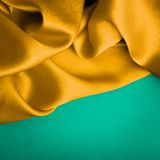 Fabric silk texture Royalty Free Stock Images
