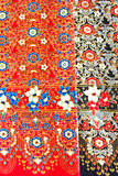 Fabric silk thai Stock Photo