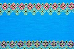 Fabric silk thai Royalty Free Stock Photography