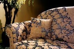 Fabric sofa Stock Image