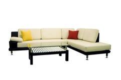 Fabric sofas Stock Photography