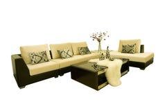 Fabric sofas Stock Photo