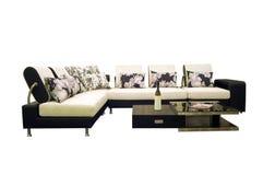 Fabric sofas Stock Image