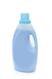Fabric softener. Bottle of laundry detergent or fabric softener isolated on white background Royalty Free Stock Photography