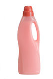 Fabric softener. Bottles of laundry detergent and fabric softener on a white background Stock Photo