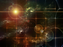 Fabric of Space Stock Photography