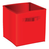 Fabric Storage Bins Royalty Free Stock Photo