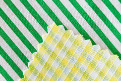 Fabric swatch Stock Photography