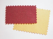Fabric swatch Stock Photos