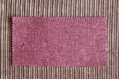 Fabric swatch Royalty Free Stock Photography